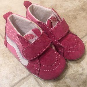 Baby Infant Pink Vans